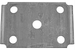 012-003-00 Axle tie-plate for 3500 lb Axles