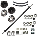 TS2000SB Straight 2000 lb Capacity Axle Package with Brakes