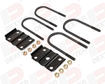 UBK-300 axle u-bolt & tie plate kit