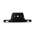 905115 Black Steel License Plate Bracket