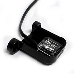 L10-WB00-1 LED License Light Black ABS Plastic