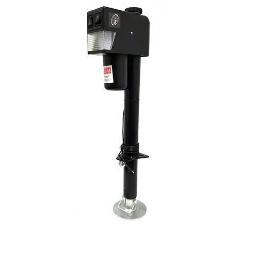 EJ-3520-BBX 3500lb capacity Black Top Electric Tongue Jack