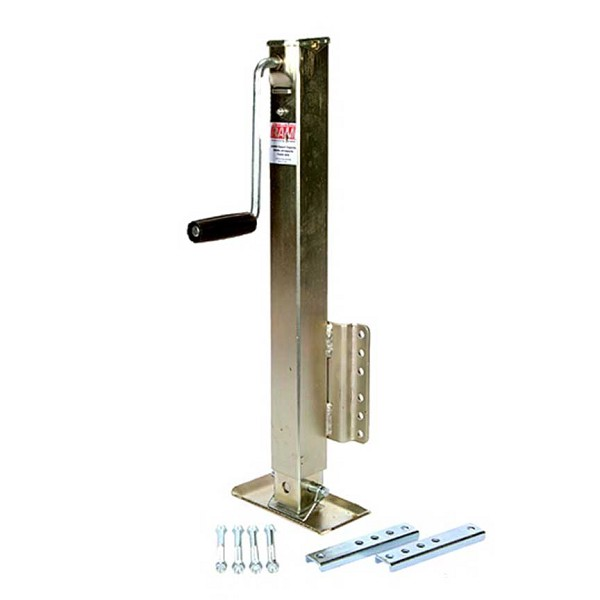 MJSQ-2500B Economy 2500Lbs Bolt-On Trailer Tongue Jack with Drop Leg