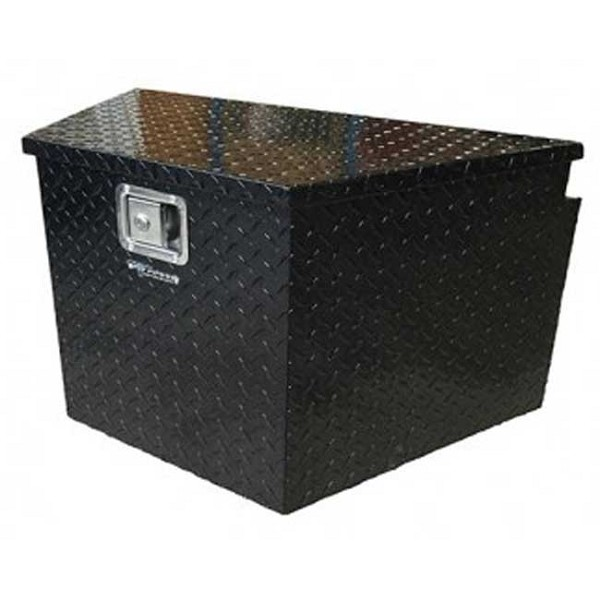 "PP3281BK 34"" Black Aluminum Trailer Tongue Box"